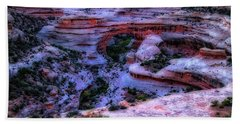Natural Bridges National Monument Bath Towel by Utah Images