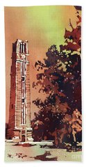 Ncsu Bell-tower Hand Towel
