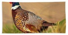 Nebraska Pheasant Hand Towel