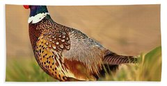 Nebraska Pheasant Bath Towel
