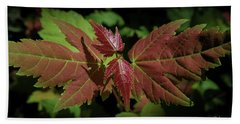 New Leaves Bath Towel