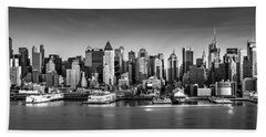 New York City Panorama Bath Towel