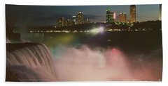 Hand Towel featuring the photograph Niagara  by Raymond Earley