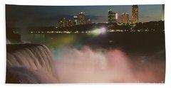 Bath Towel featuring the photograph Niagara  by Raymond Earley