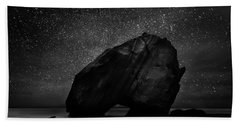Bath Towel featuring the photograph Night Guardian by Jorge Maia
