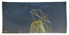 Bath Towel featuring the photograph Night Sky  by Bruno Rosa