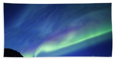 Bath Towel featuring the photograph Northern Lights 7 by Mariusz Czajkowski