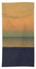 Not Quite Rothko - Breezy Twilight Bath Towel by Serge Averbukh