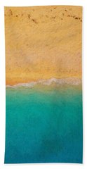 Not Quite Rothko - Surf And Sand Bath Towel by Serge Averbukh