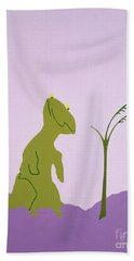 Nudgeandhumosaurus Bath Towel