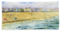 Ocean City Maryland Bath Towel by Melly Terpening
