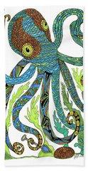 Octopus' Garden Bath Towel