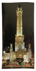 Old Chicago Water Tower Bath Towel