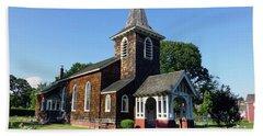 Old Grace Church Massapequa  Hand Towel