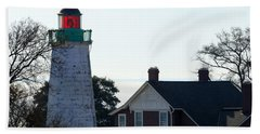 Old Point Comfort Lighthouse Bath Towel