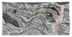 Old Rock Background Hand Towel