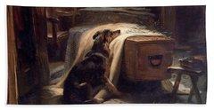 Old Shepherds Chief Mourner Bath Towel