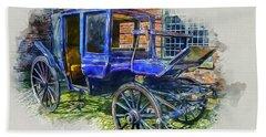 Old Stagecoach Bath Towel