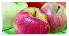 Organic Apples Hand Towel