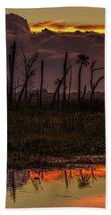 Orlando Wetlands Sunrise Hand Towel