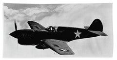 P-40 Warhawk Hand Towel