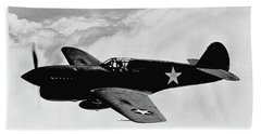 P-40 Warhawk Bath Towel