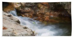 Painted Stream Hand Towel
