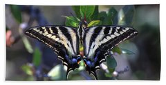 Pale Swallowtail Bath Towel