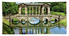 Palladian Bridge Nature Scene Hand Towel