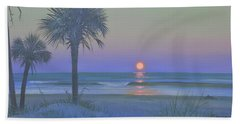 Palmetto Moon Hand Towel by Blue Sky