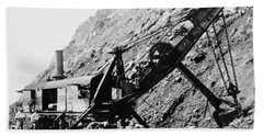 Panama Canal - Construction - C 1910 Hand Towel