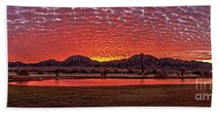 Bath Towel featuring the photograph Panoramic Sunrise by Robert Bales