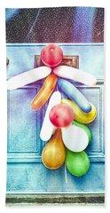 Party Balloons Bath Towel