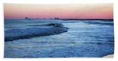 Pastel Sunset Hand Towel by Elsa Marie Santoro
