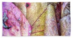 Patterns From Leaves Hand Towel by Todd Breitling