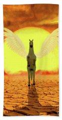 Pegasus By Mary Bassett Hand Towel