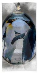 Penguin Art Hand Towel