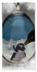 Penguins Art Hand Towel