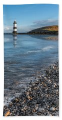 Penmon Point Lighthouse Hand Towel