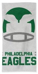 Philadelphia Eagles Vintage Art Hand Towel
