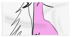 Pink 2 Hand Towel