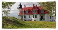 Point Betsie Lighthouse Bath Towel