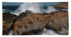 Point Lobos' Concretions Hand Towel