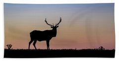 Point Reyes Elk Bath Towel