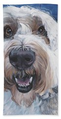 Polish Lowland Sheepdog Hand Towel