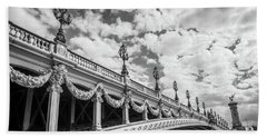 Pont Alexandre IIi In Paris Hand Towel