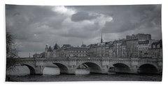 Pont Neuf Paris Bath Towel