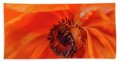 Poppy Detail Bath Towel