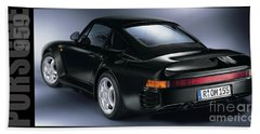The Porsche 959 Hand Towel by Jon Neidert