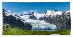 Portage Glacier Hand Towel